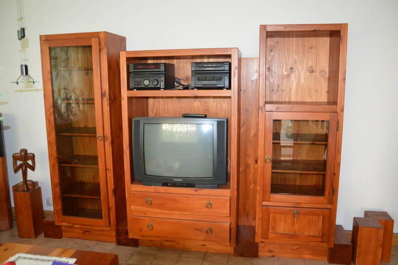 Wohnzimmer in massivholz - Gebrauchte wohnzimmer ...