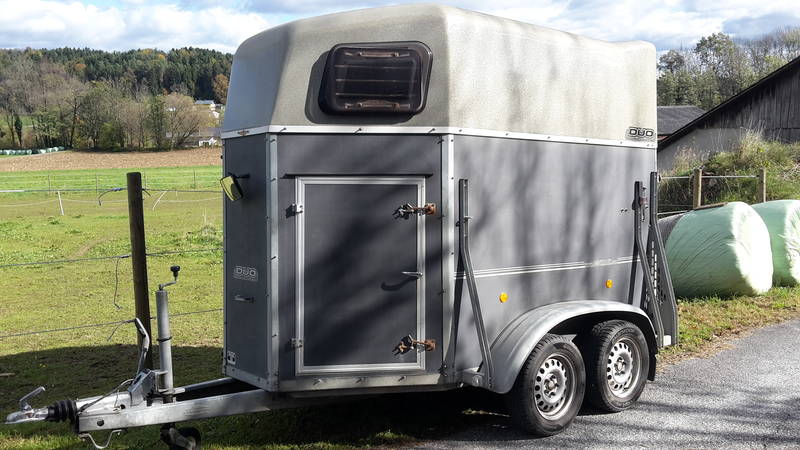 b ckmann duo 2 pferde anh nger. Black Bedroom Furniture Sets. Home Design Ideas