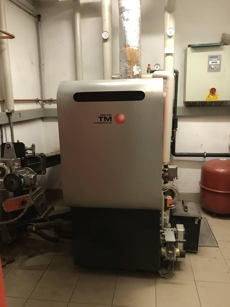 Heizkesselanlage Fröling Turbomatic 55