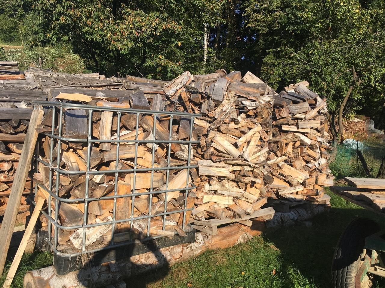 brennholz ofenfertig buche birke od eiche