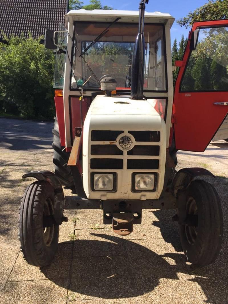 steyr traktor steyr 8060 mit frontlader ohne schaufel