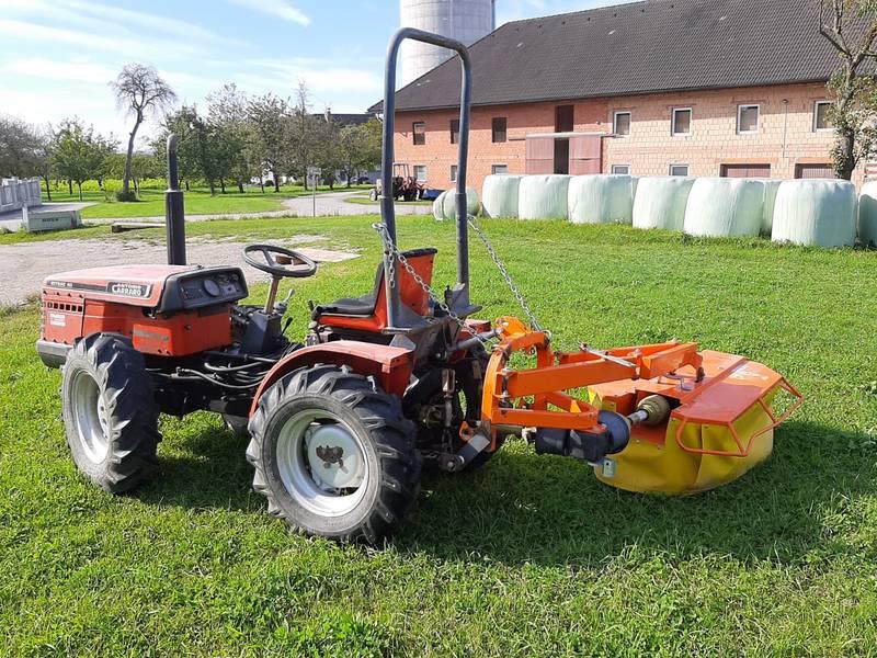 carraro carraro traktor mit mähwerk gebraucht kaufen