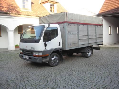 viehtransporter mitsubishi canter 3 5 t. Black Bedroom Furniture Sets. Home Design Ideas