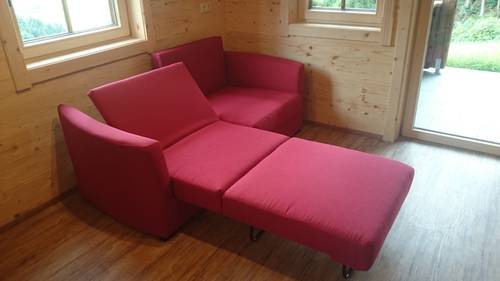 verkaufe neues schlafsofa. Black Bedroom Furniture Sets. Home Design Ideas