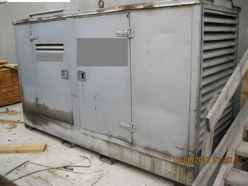 diesel stromerzeuger generator stromaggregat notstrom 100 kva. Black Bedroom Furniture Sets. Home Design Ideas
