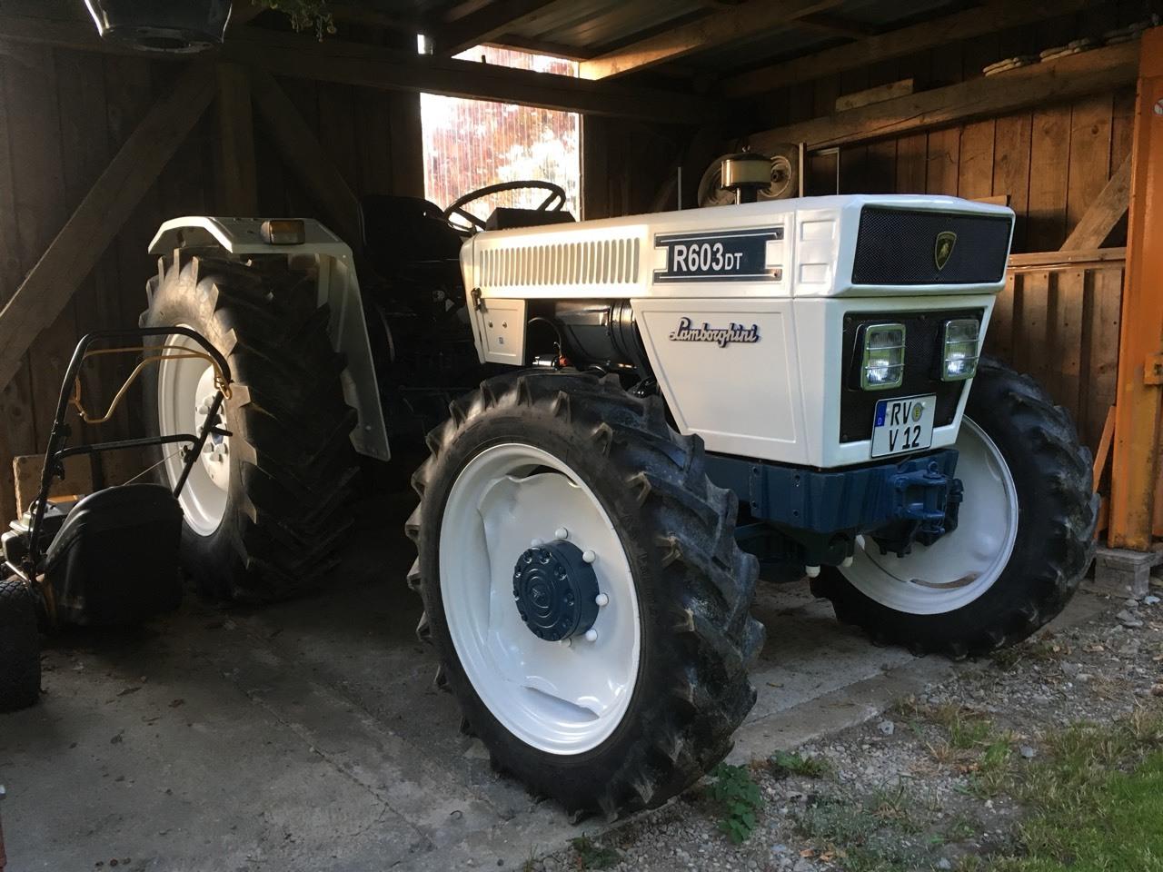 Classic Traktor Lamborghini 603 503