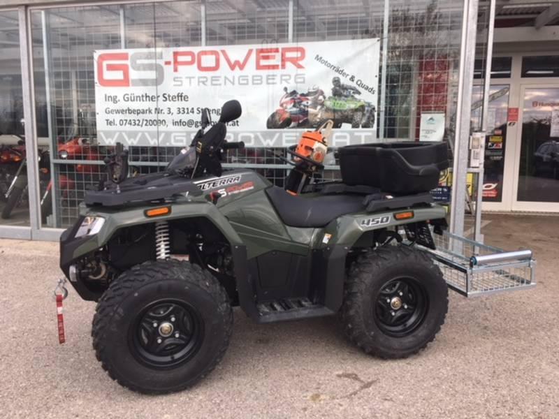 Gemeinsame Quad ATV 4x4 - optimal f. Landwirtschaft, Jagd, Winterdienst &JK_36
