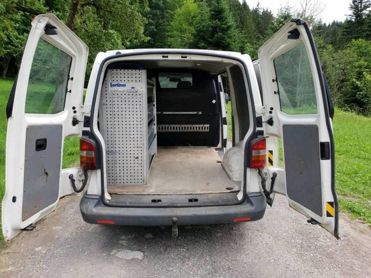 Verkaufe T5 Transporter Allrad