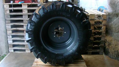 verkaufe kompletträder für mb trac trelleborg 540 65 r28 reifen neu ...