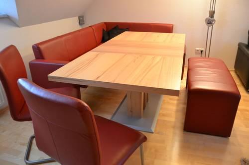 esstisch eckbank hockerbank sessel top zustand. Black Bedroom Furniture Sets. Home Design Ideas