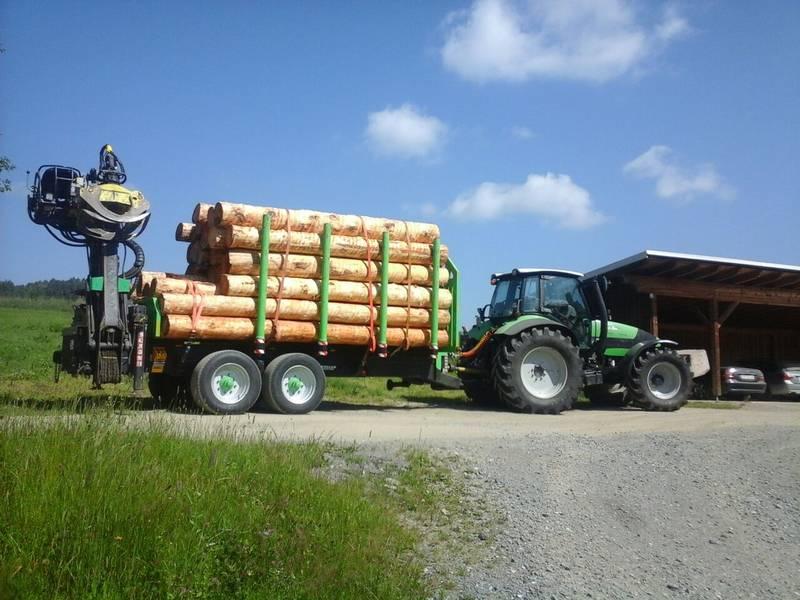 Massiver Holzanh 228 Nger Marke Eigenbau