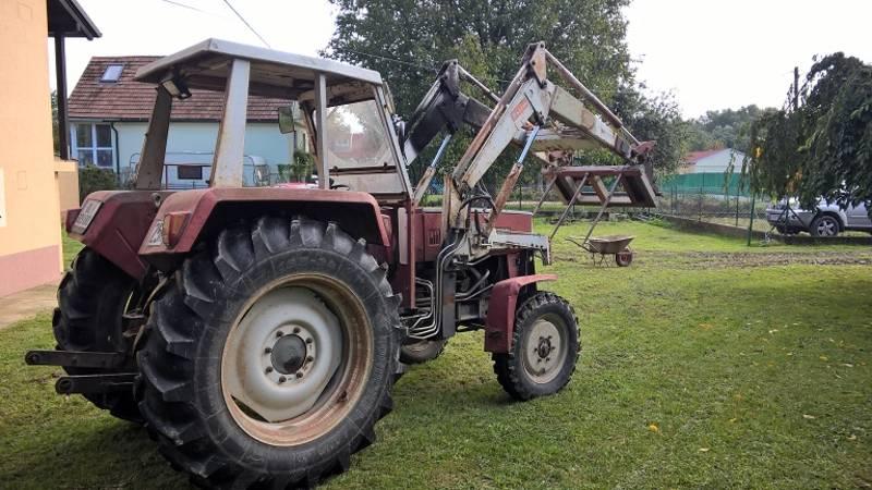 Traktor 870 steyr inkl. frontlader und zubehör