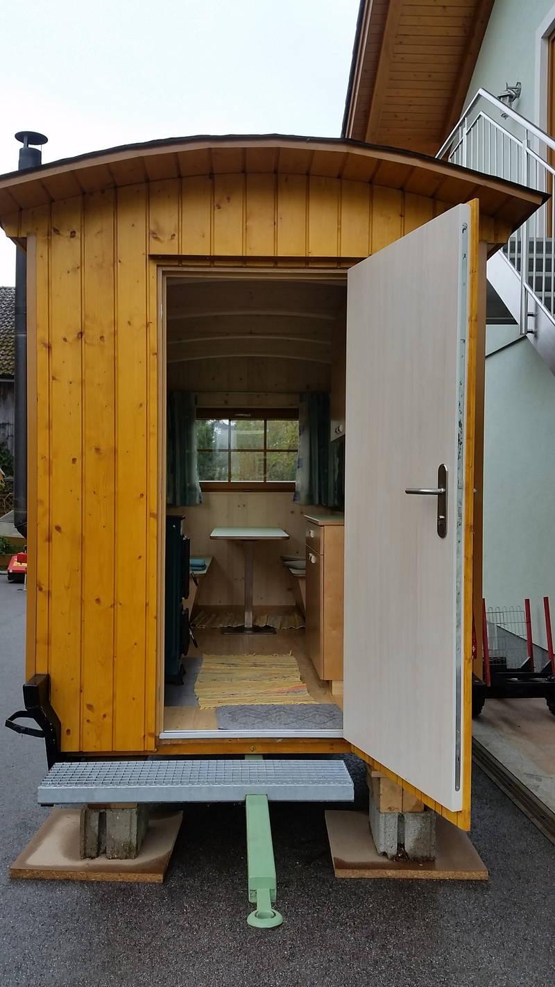 gartenh tte fahrbar verkaufswagen ausschankwagen markth. Black Bedroom Furniture Sets. Home Design Ideas