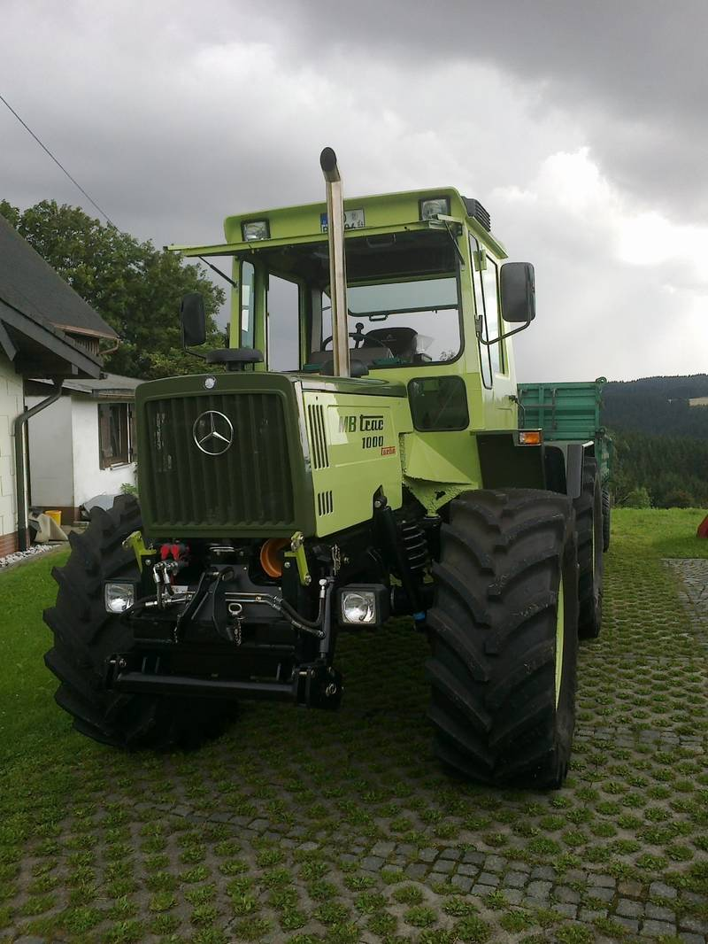 Super MB Trac 1000 Turbo, vollrestauriert @PT_34