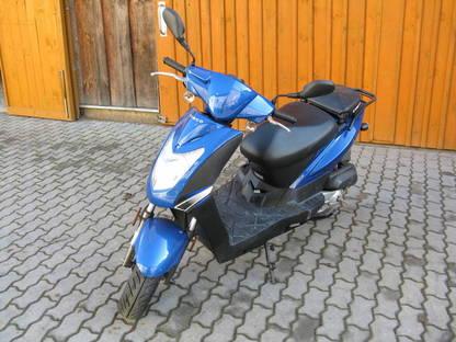 Spiegel Kymco Agility : Moped roller kymco agility