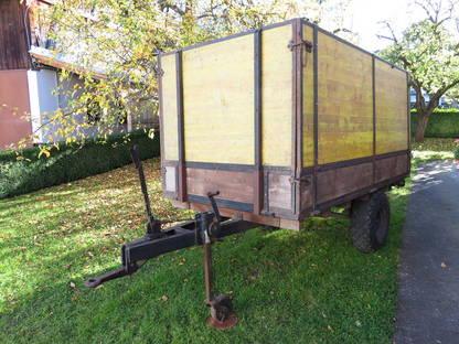 einachs anh nger f r traktor. Black Bedroom Furniture Sets. Home Design Ideas