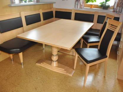 zusatzherd und eckbank mit tisch zu verkaufen. Black Bedroom Furniture Sets. Home Design Ideas